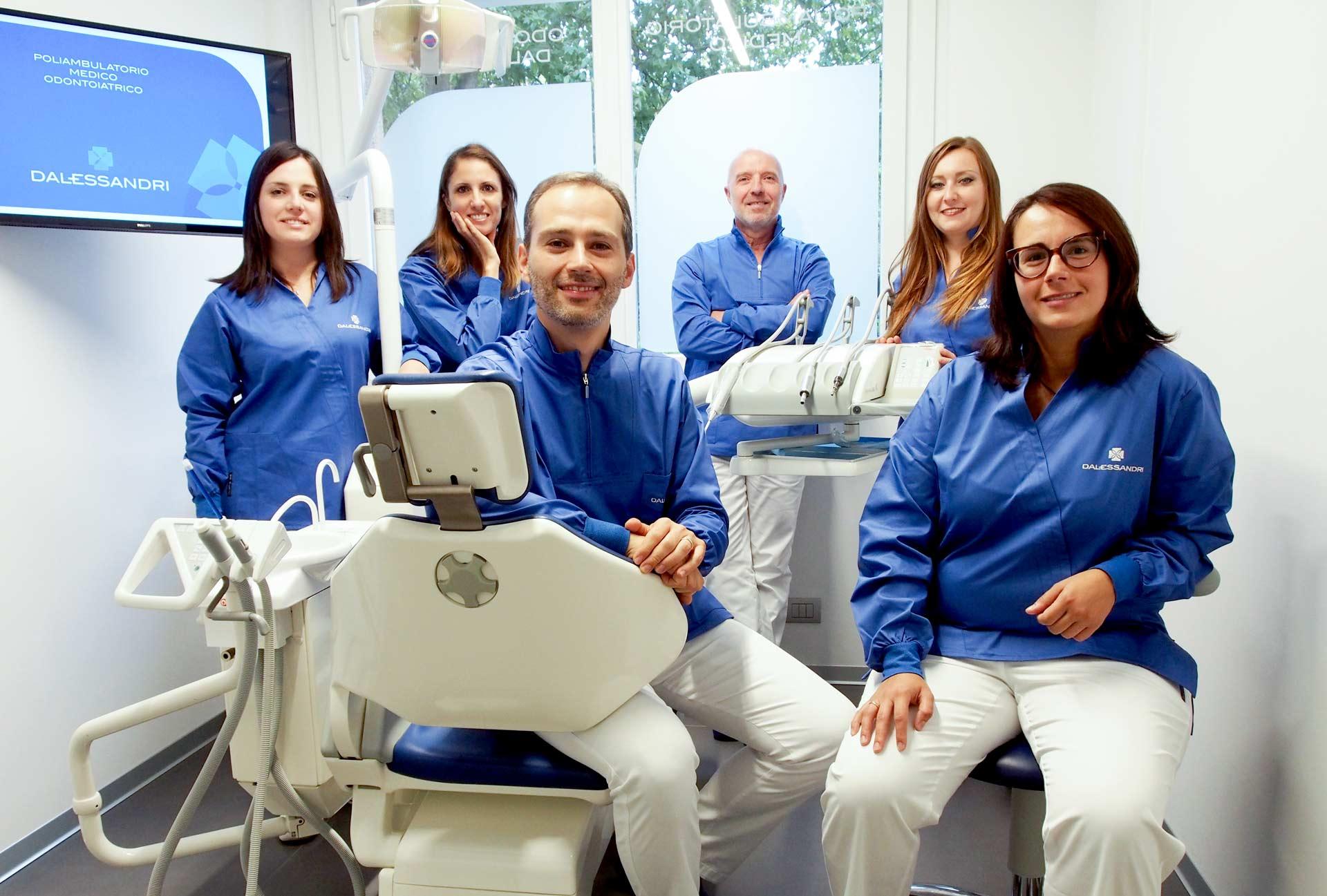 team - studio dentistico dalessandri a bergamo